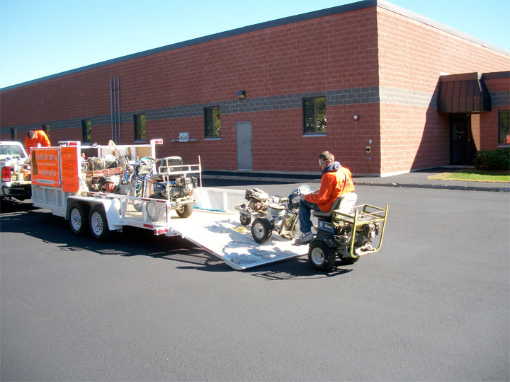 Line Striping  - D & M Striping